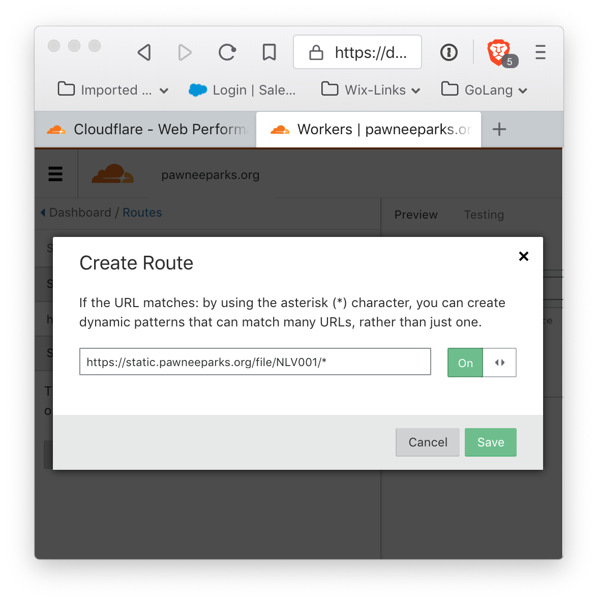 How to allow Cloudflare to fetch content from a Backblaze B2