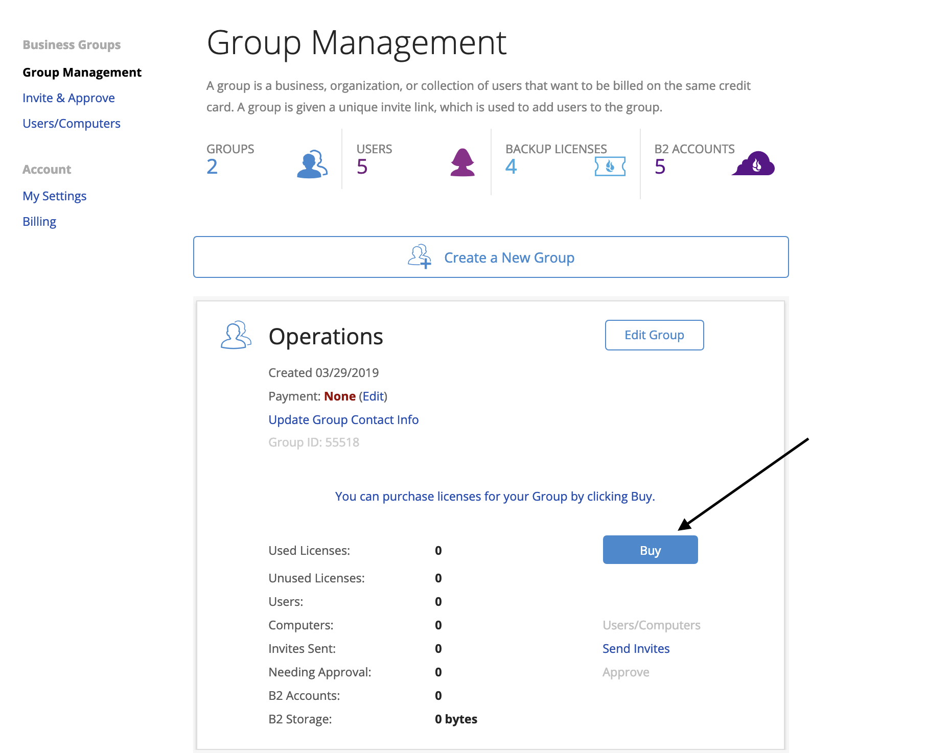 How To Add ACH Billing to Groups – Help Desk