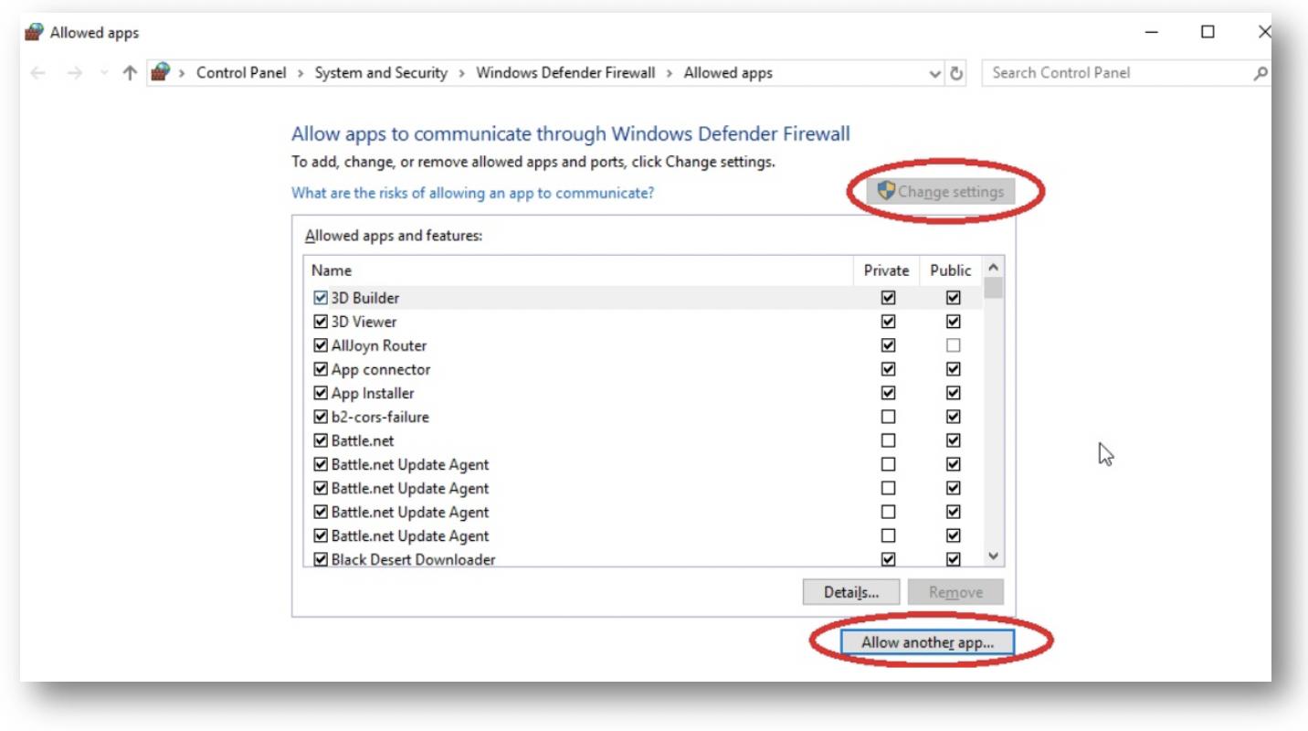 Adding Backblaze to Windows Defender Allowances – Help Desk