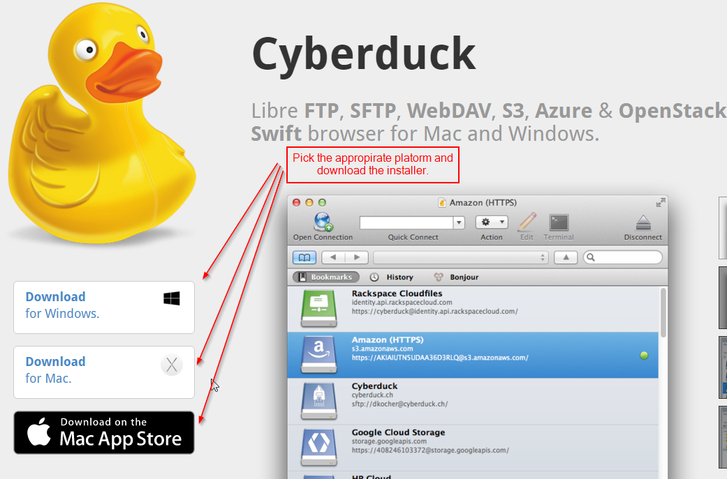 cyberduck ftp client for windows