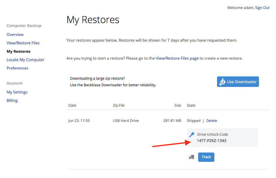 How to unlock an encrypted USB restore – Help Desk